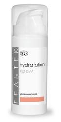 Гельтек Hydratation крем увлажняющий с высокомолекулярной гиалуроновой кислотой и соком алоэ, 30 мл