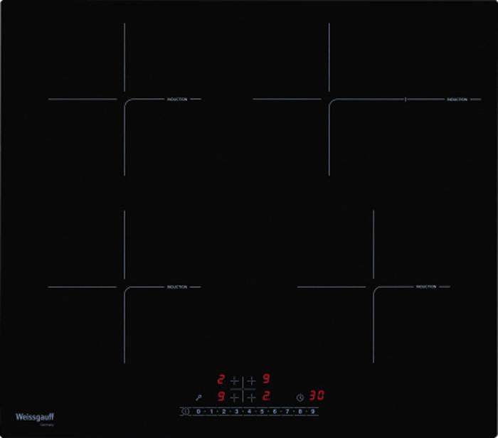 Варочная поверхность Weissgauff HI 641 BSC, 423434, черный