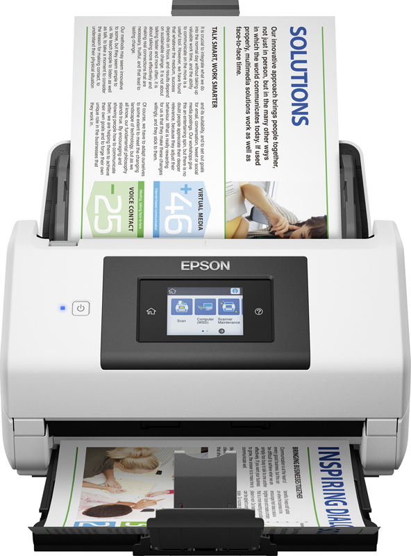 Сканер Epson Work Force DS-780N, B11B227401, серый