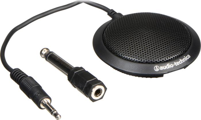 Микрофон для конференций Audio-Technica ATR4697, 15114860, черный