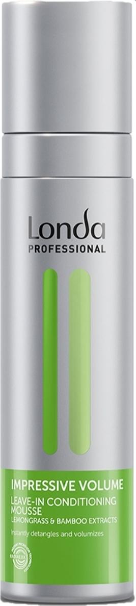 Мусс-кондиционер для волос Londa Professional Impressive Volume несмываемый для придания объема, 200 мл