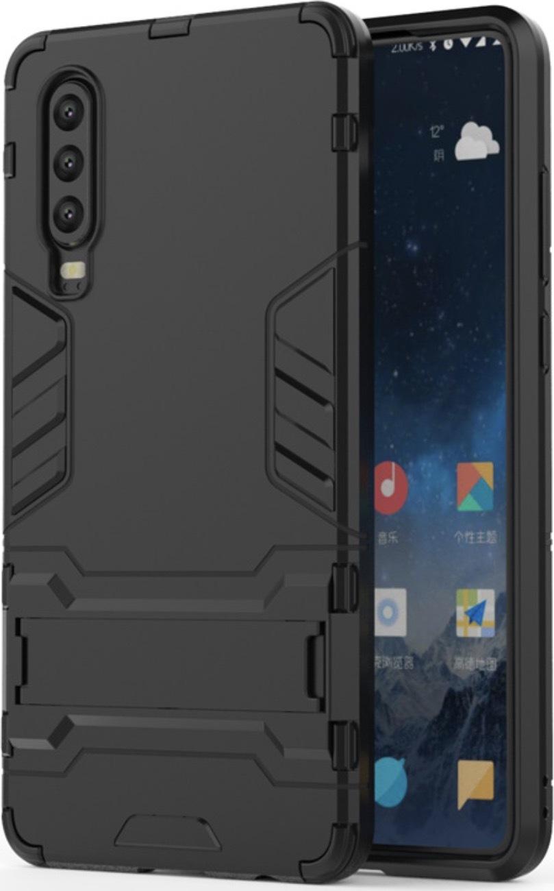 Чехол-бампер MyPads для Huawei Y5 2019/Huawei Honor 8S противоударный усиленный ударопрочный черный