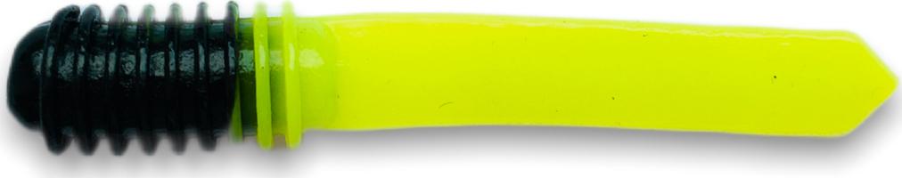 Приманка SOOREX Spear 75mm 110 (Черный/Шартрез) Икра 8шт.