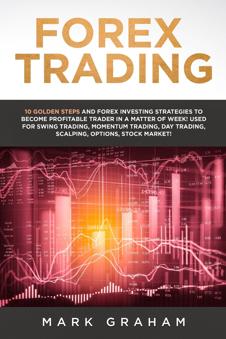 Mark Graham Forex Trading. 10 Golden Steps and Forex Investing Strategies to Become Profitable Trader in a Matter of Week! Used for Swing Trading, Momentum Trading, Day Trading, Scalping, Options, Stock Market!