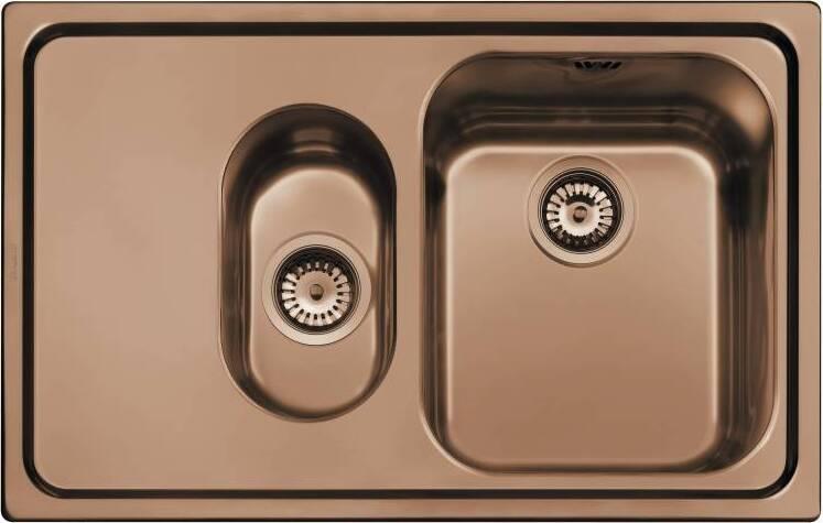 Кухонная мойка Smeg SP7915SRA крыло слева