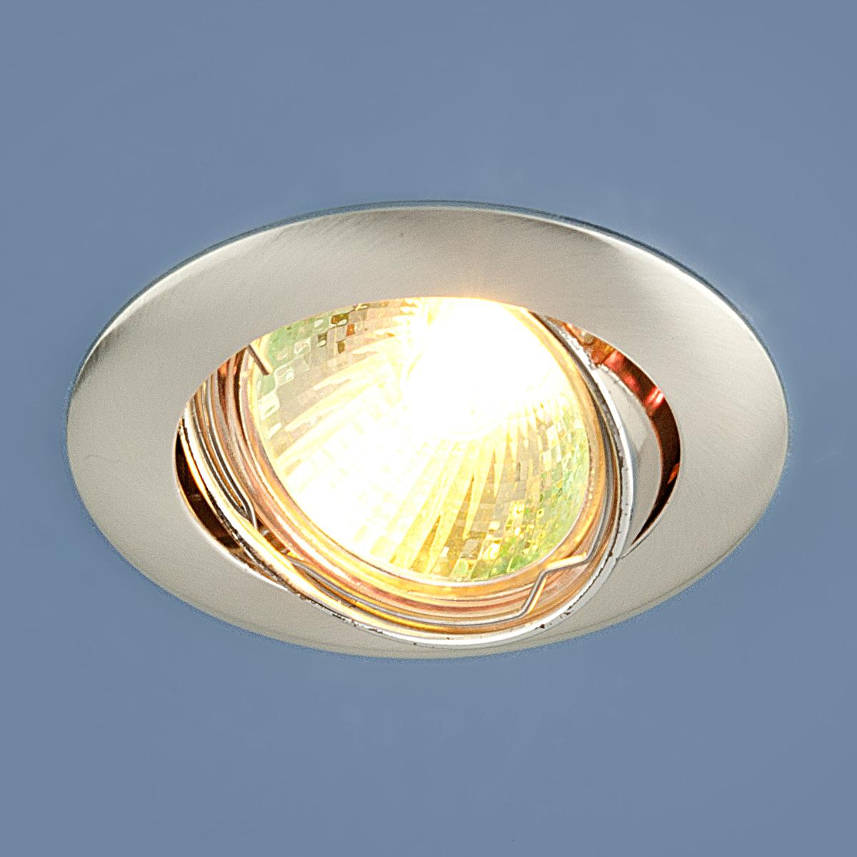Встраиваемый светильник Elektrostandard Точечный 104S MR16 SS, G5.3 bfgoodrich all terrain t a ko2 lt30 9 5 r15 104s 245 80 r15 104s