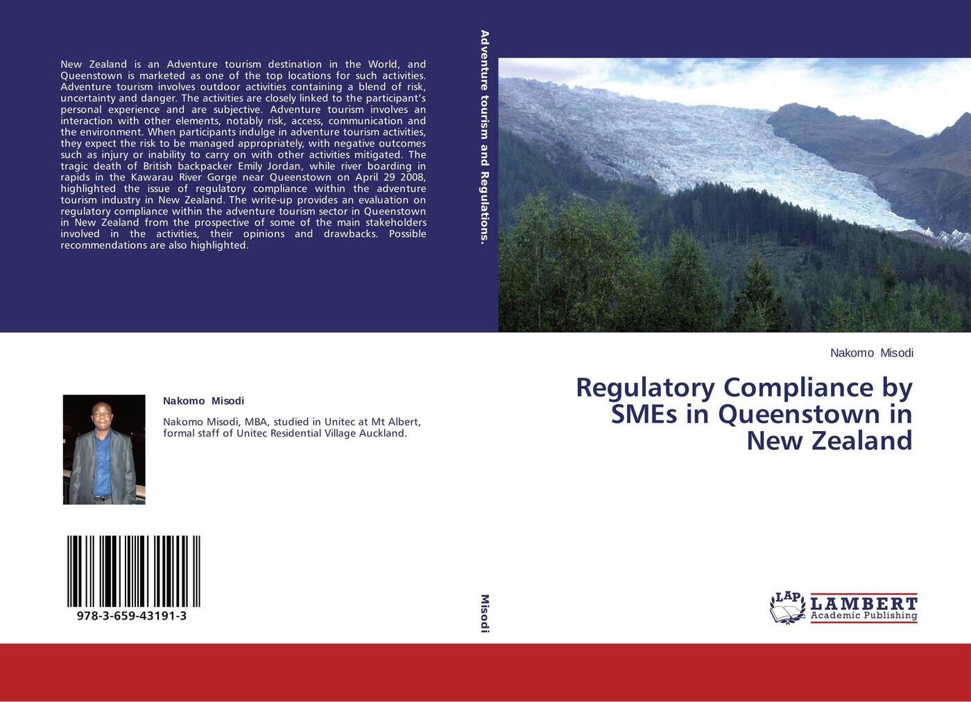Nakomo Misodi Regulatory Compliance by SMEs in Queenstown in New Zealand six nations one river sustainable tourism collaboration