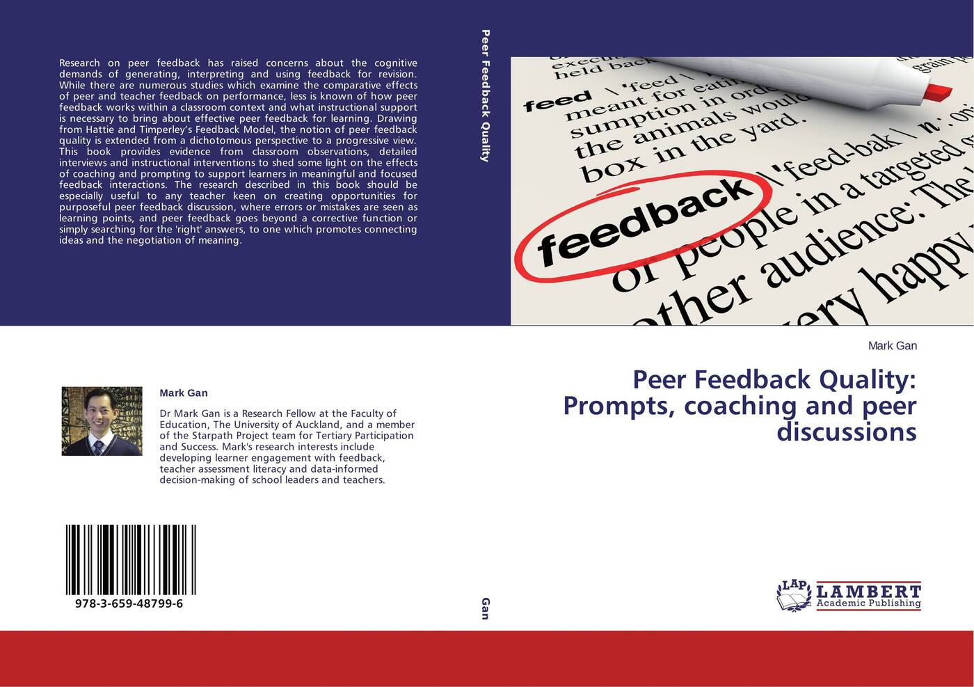 Mark Gan Peer Feedback Quality: Prompts, coaching and peer discussions