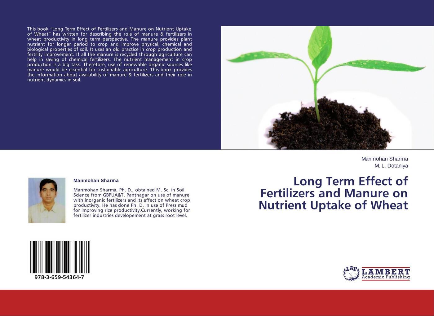 Manmohan Sharma and M. L. Dotaniya Long Term Effect of Fertilizers and Manure on Nutrient Uptake of Wheat pragnesh dave and jaspal b sukhdiya preparation of chitosan nanoparticals coated k fertilizers