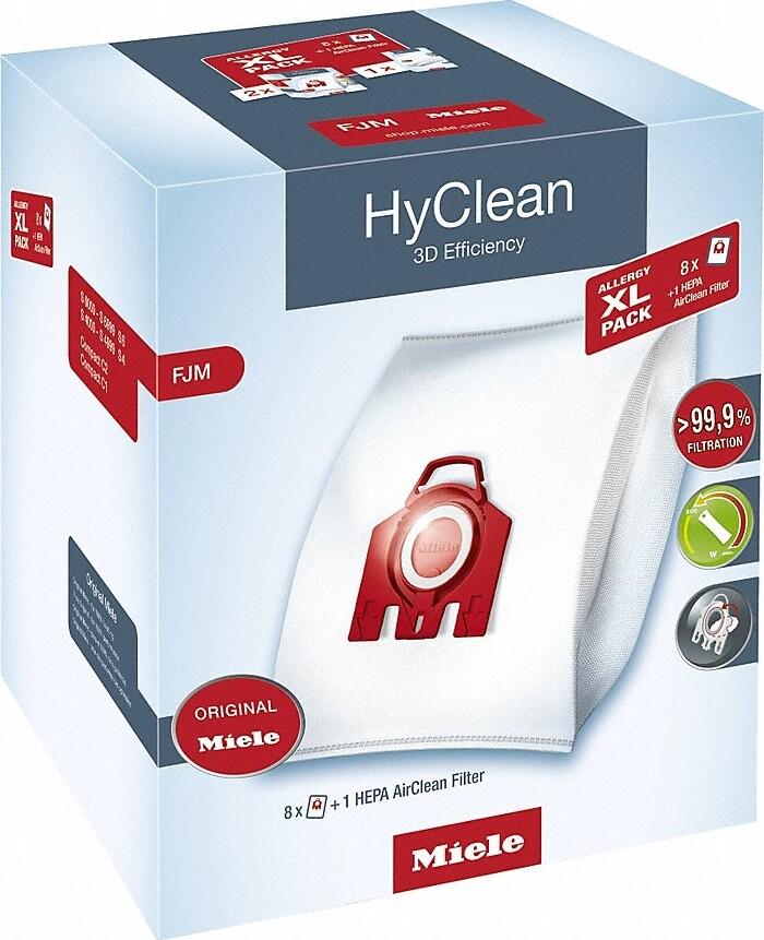 Мешки для пылесоса Miele Allergy XL Pack 2 HyClean FJM + фильтр HA50 все цены