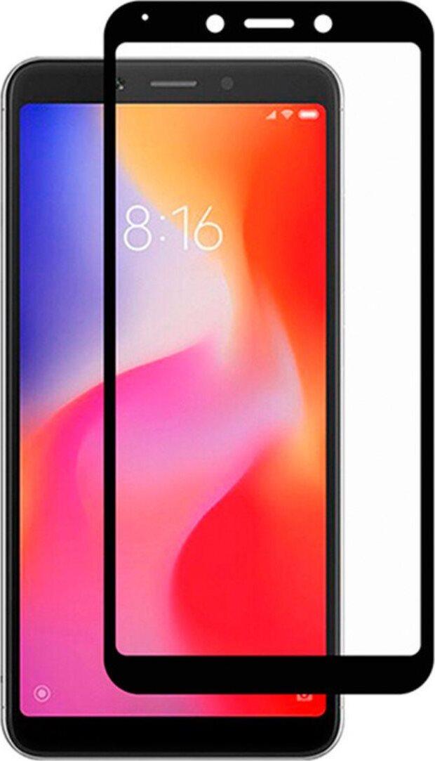 Стекло защитное Dekken рамка FULL SCREEN/FULL GLUE для Xiaomi Redmi 6