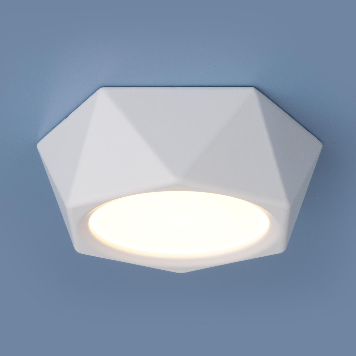 DLR027 6W 4200K / Светильник светодиодный стационарный белый матовый