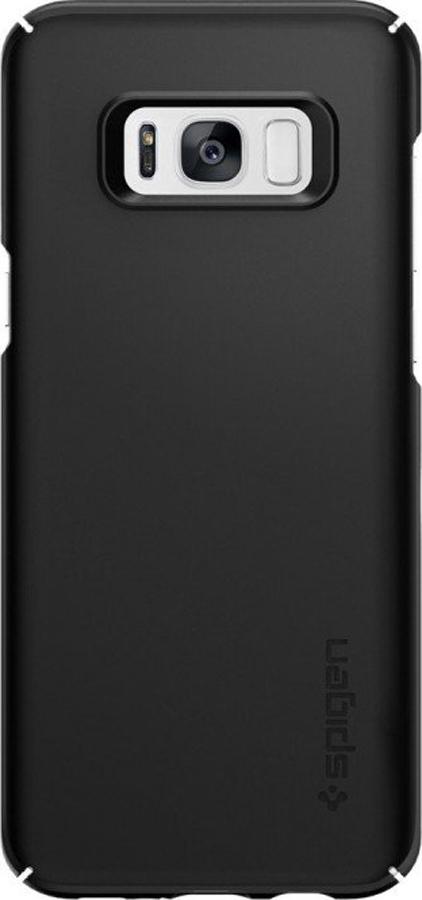 Чехол-накладка Spigen Thin Fit для Samsung Galaxy S8, черный