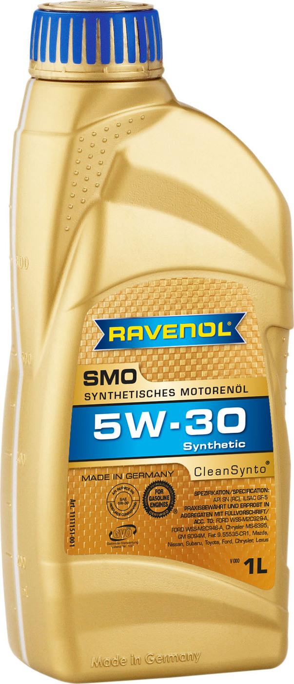 Моторное масло RAVENOL SMO SAE 5W-30 (1л)