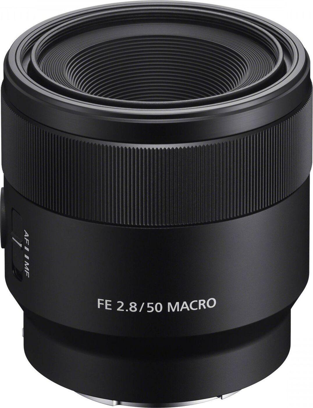 Объектив Sony FE 50mm F2.8 Macro, черный