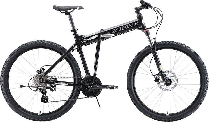 Велосипед Stark'19 Cobra 27.3 HD чёрный/белый, 18' (H000014099)