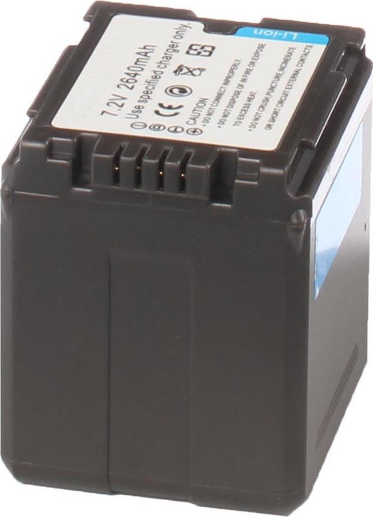 Аккумуляторная батарея iBatt iB-T3-F321 2640mAh для камер Panasonic SDR-H48, AG-AC160, AG-HMC154ER, AG-HMC84ER, AG-HMC74ER, AG-AC130, AG-AC120, AG-AF104ER, AG-HMC40, AG-AC120EN, AG-AF100, AG-AC160EN, AG-HMC41E, AG-AC130EN, AG-AC160P, AG-AF101E,