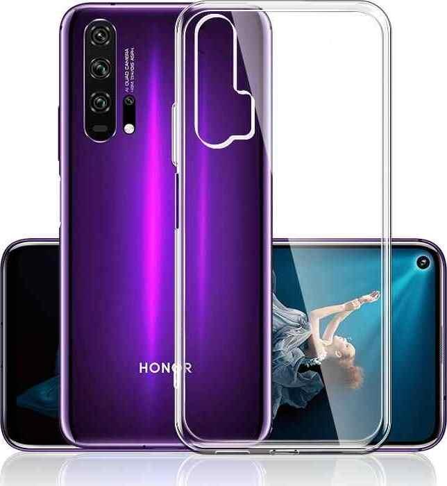 Силиконовый чехол для Huawei Honor 20 Pro, Прозрачный