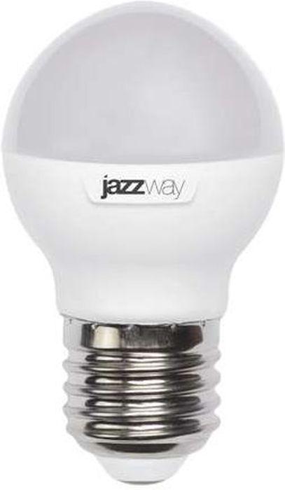Лампочка Jazzway PLED-SP-G45, Теплый свет 7 Вт, Светодиодная