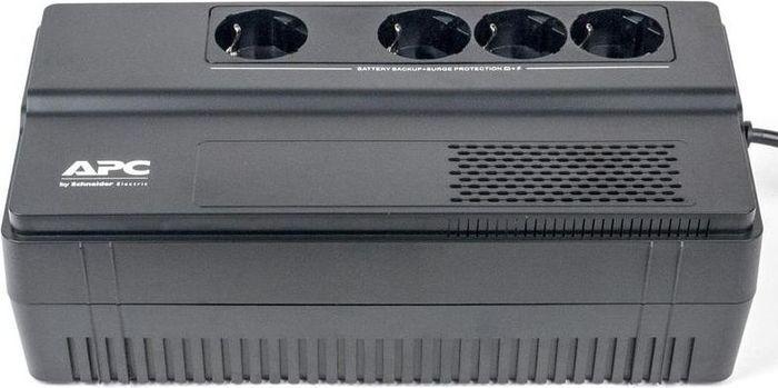 Источник бесперебойного питания APC Back-UPS BV800I-GR, черный