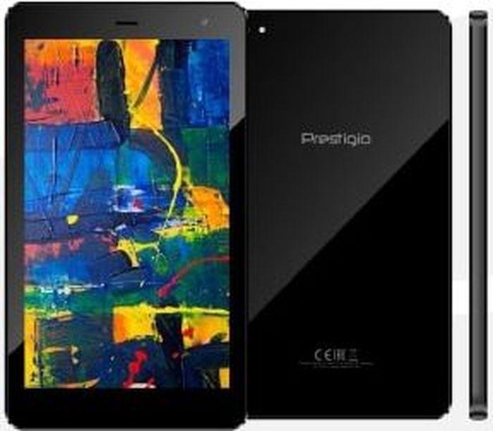 """планшет prestigio grace pmt4327d 7"""", 16 gb, черный"""