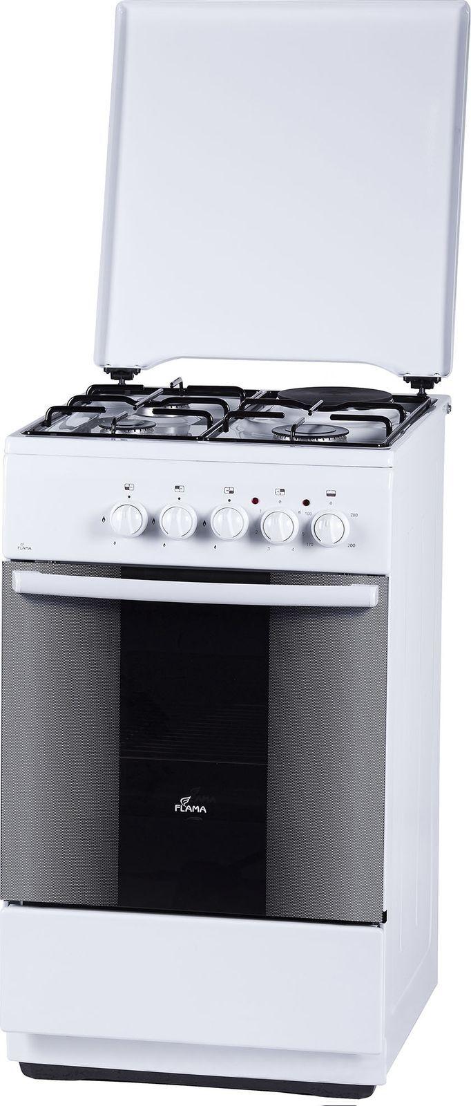 Кухонная плита Flama RK 23-105 W, белый