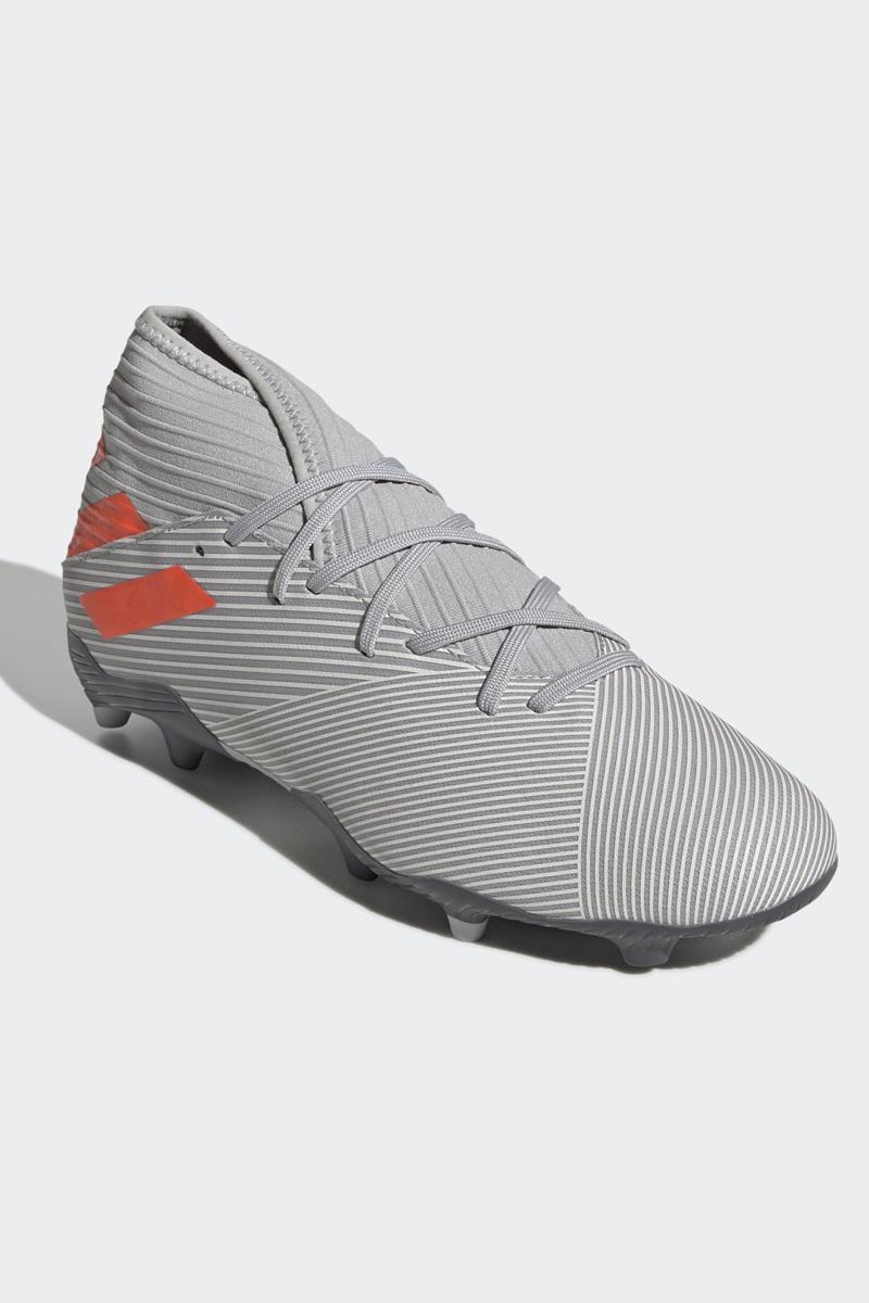 Бутсы мужские Adidas Nemeziz 19.3 Fg, цвет: серый. EF8287. Размер 8 (40,5)