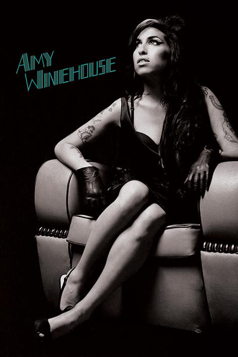Постер Amy Winehouse (Chair) 61 x 91.5 см, в тубусе
