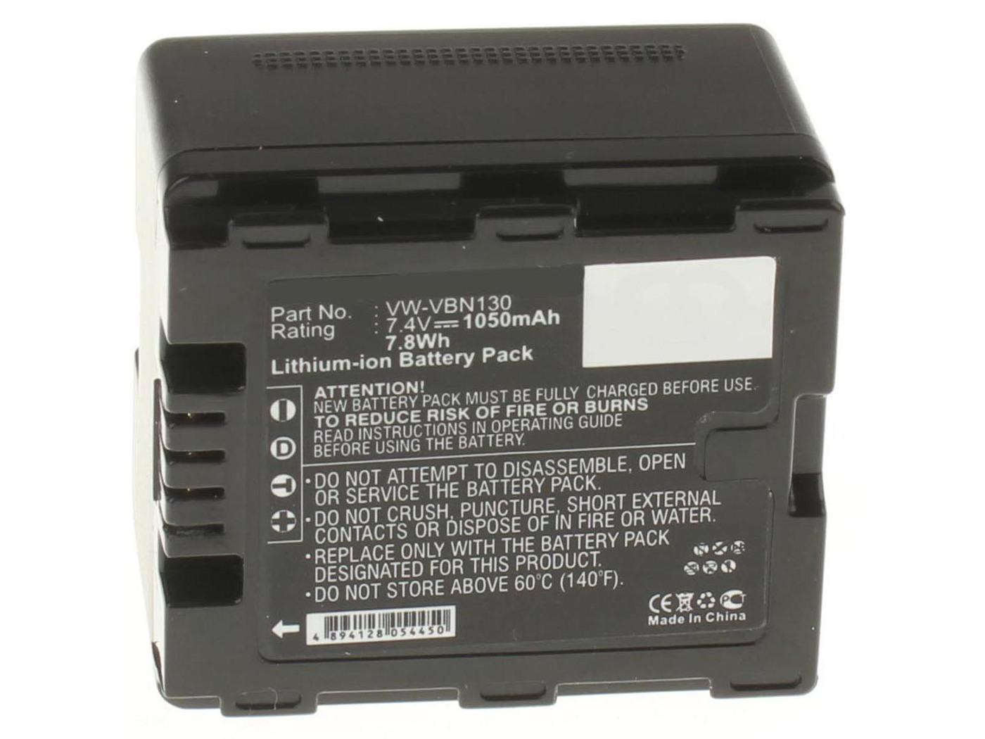 Аккумуляторная батарея iBatt iB-T1-F228 1050mAh для камер Panasonic HC-X800, HC-X920, HDC-SD800, HC-X900, HC-X810, HDC-TM900, HC-X900M, HDC-SD900, HDC-HS900, HDC-TM900K, HC-X800GK, HC-X900K, HC-X909, HDC-HS900GK, HDC-HS900K,