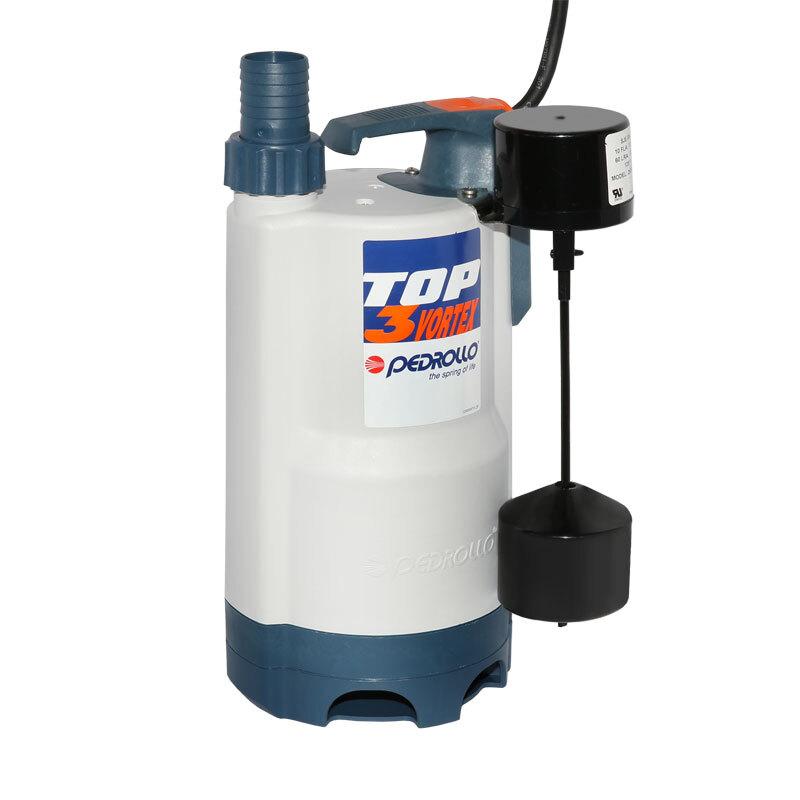 Дренажный насос для загрязненной воды PEDROLLO TOP 3-VORTEX - GM 48TOPV13A1SJR