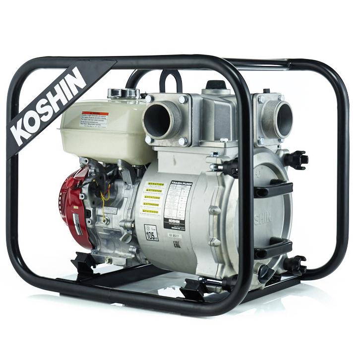 Бензиновая мотопомпа Koshin KTH-80S o/s