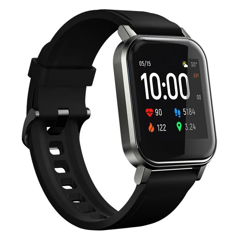 Умные часы Haylou LS02 black, черный