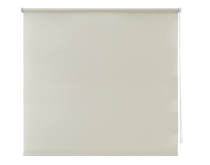 Штора рулонная 140х175 см, цвет бежевый-20340