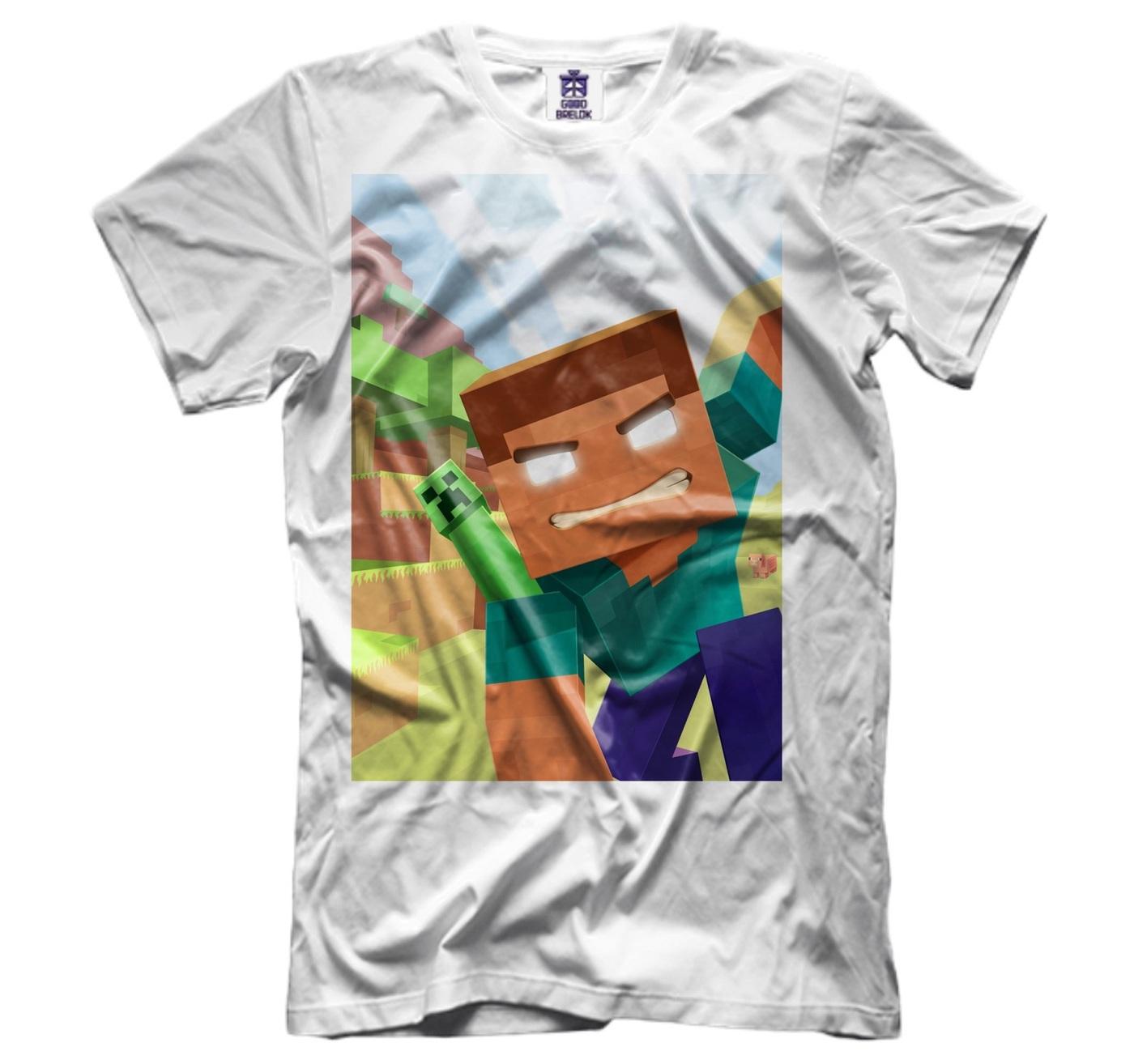 озон футболки с майнкрафт #3