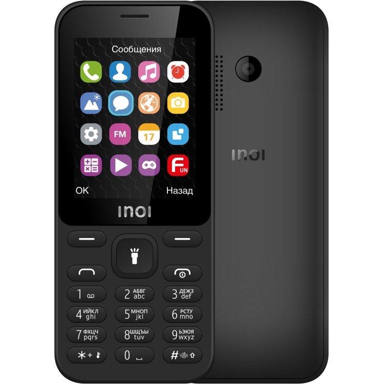 мобильный телефон inoi 241, черный