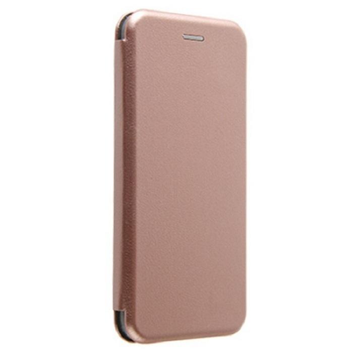 Чехол-книжка для Xiaomi Poco X3 Розово-Золотистая + Защитное стекло в подарок