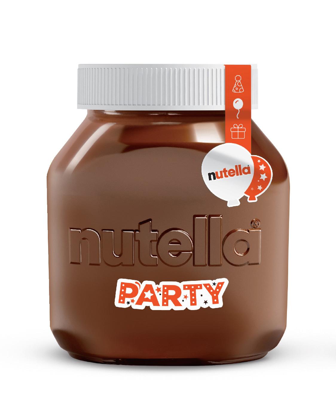 Ореховая паста Nutella, фундук и какао, Party edition, 3кг