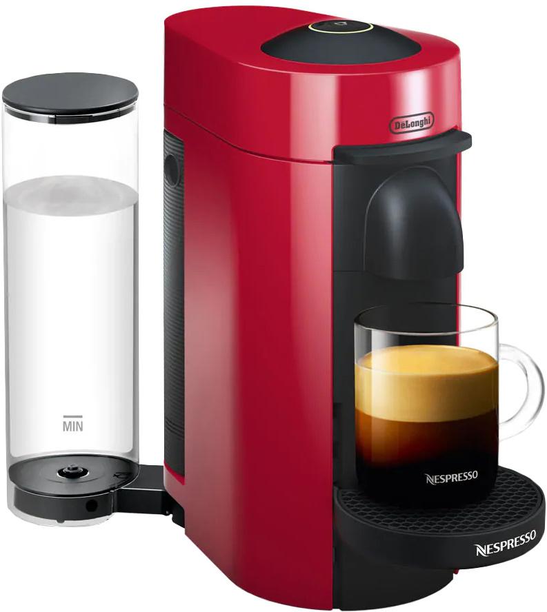 Капсульная кофемашина DeLonghi Nespresso ENV150.R, красный #1