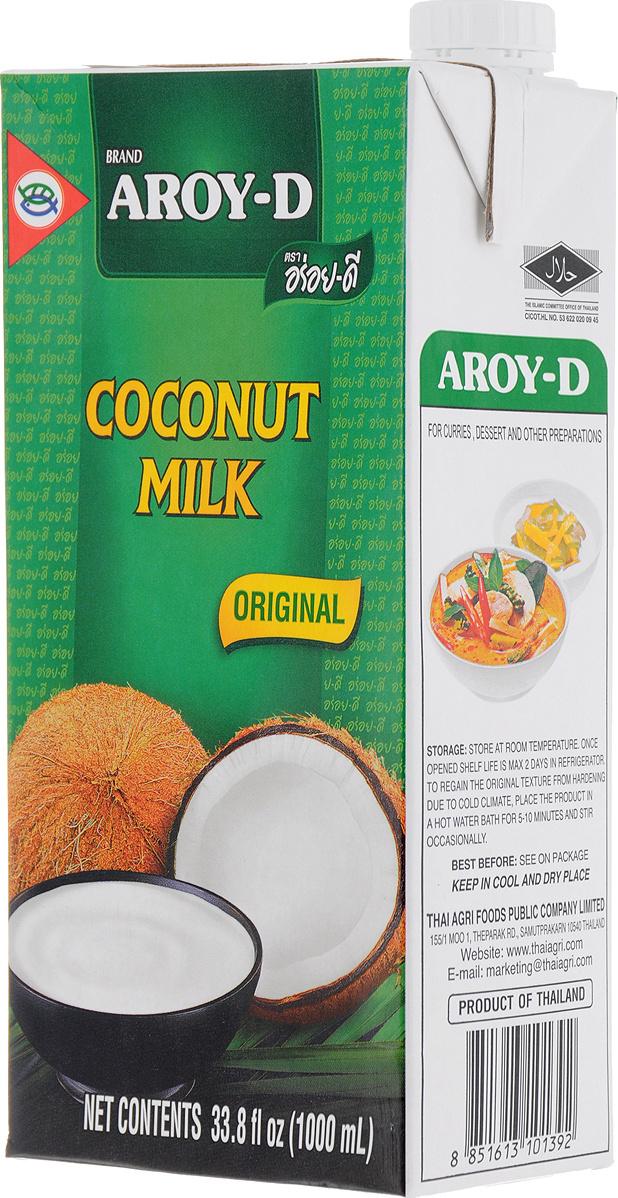Растительный напиток Aroy-D кокосовый, 70%, 1 л #1