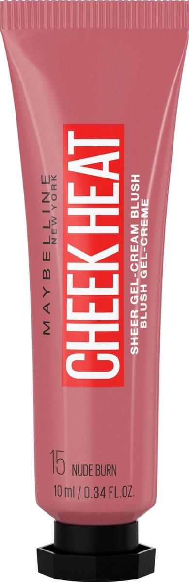 Maybelline New York Cheek Heat Румяна, тон 15, нюдовый, 10 мл #1