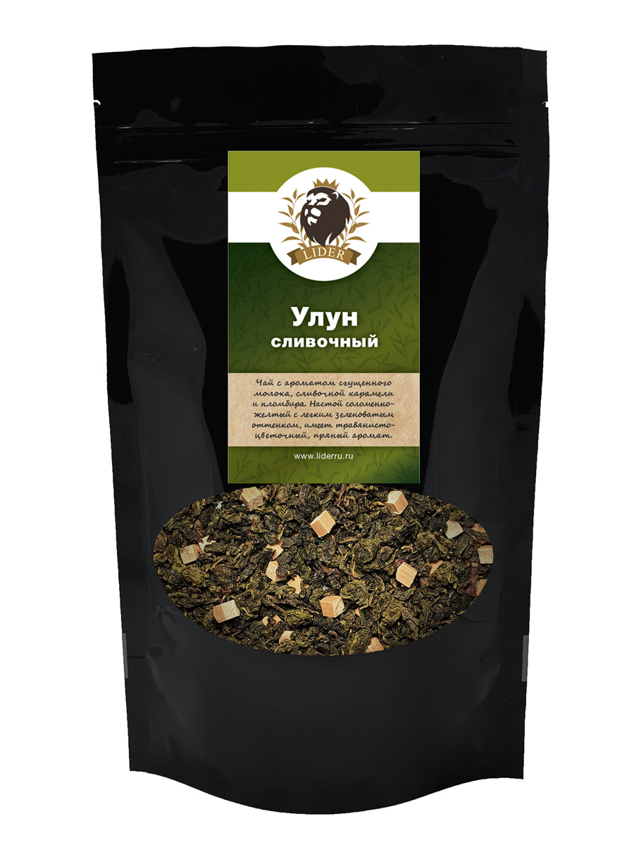 Китайский листовой чай amoTEA Улун сливочный 70 гр. с добавками  #1