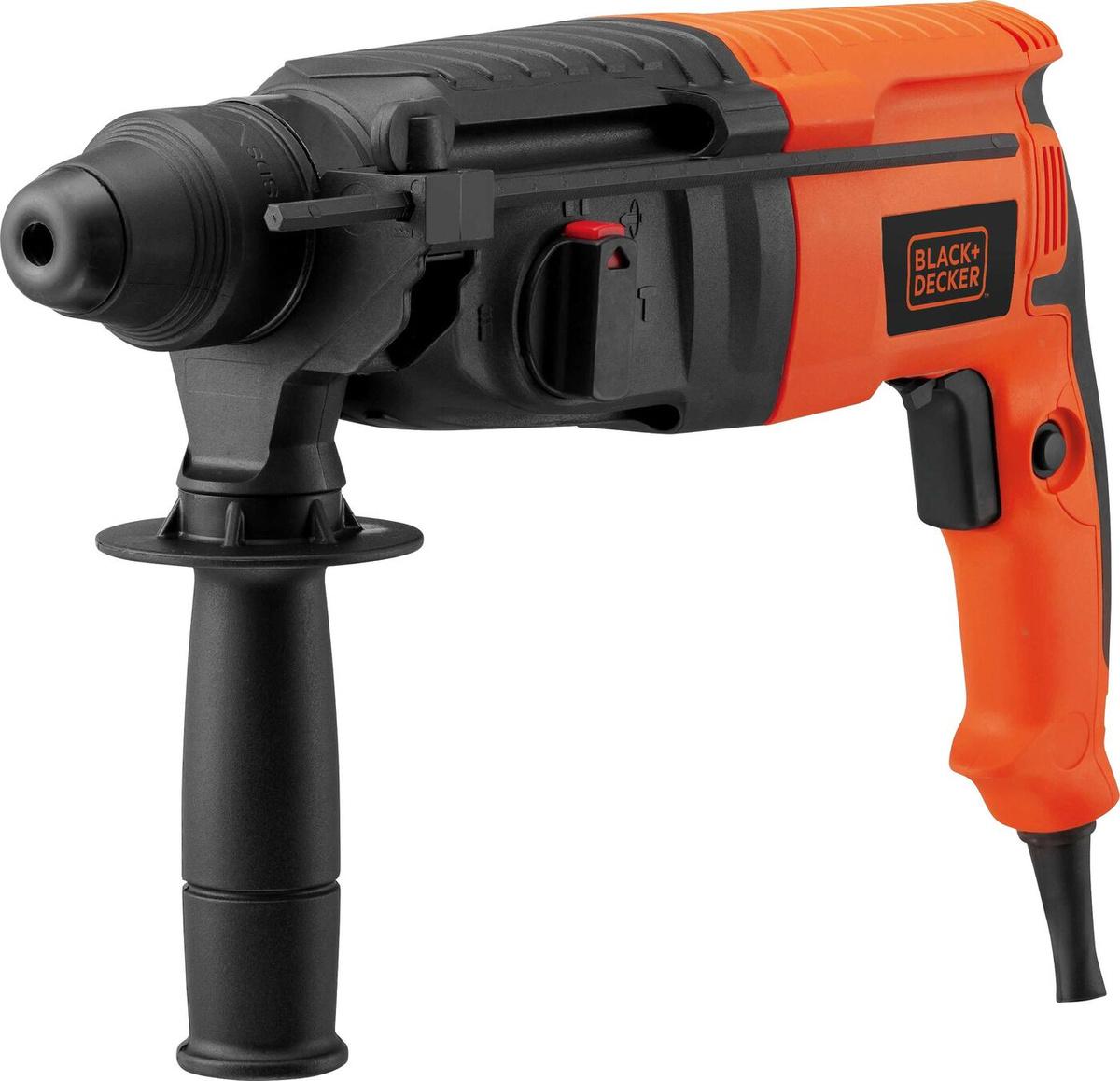 Перфоратор Black+Decker SDS-Plus, BDHR26KR-RU, оранжевый, черный, 800 Вт #1