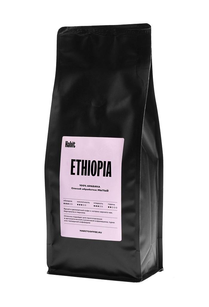 Кофе в зернах Habit, ETHIOPIA, 0,5 кг #1