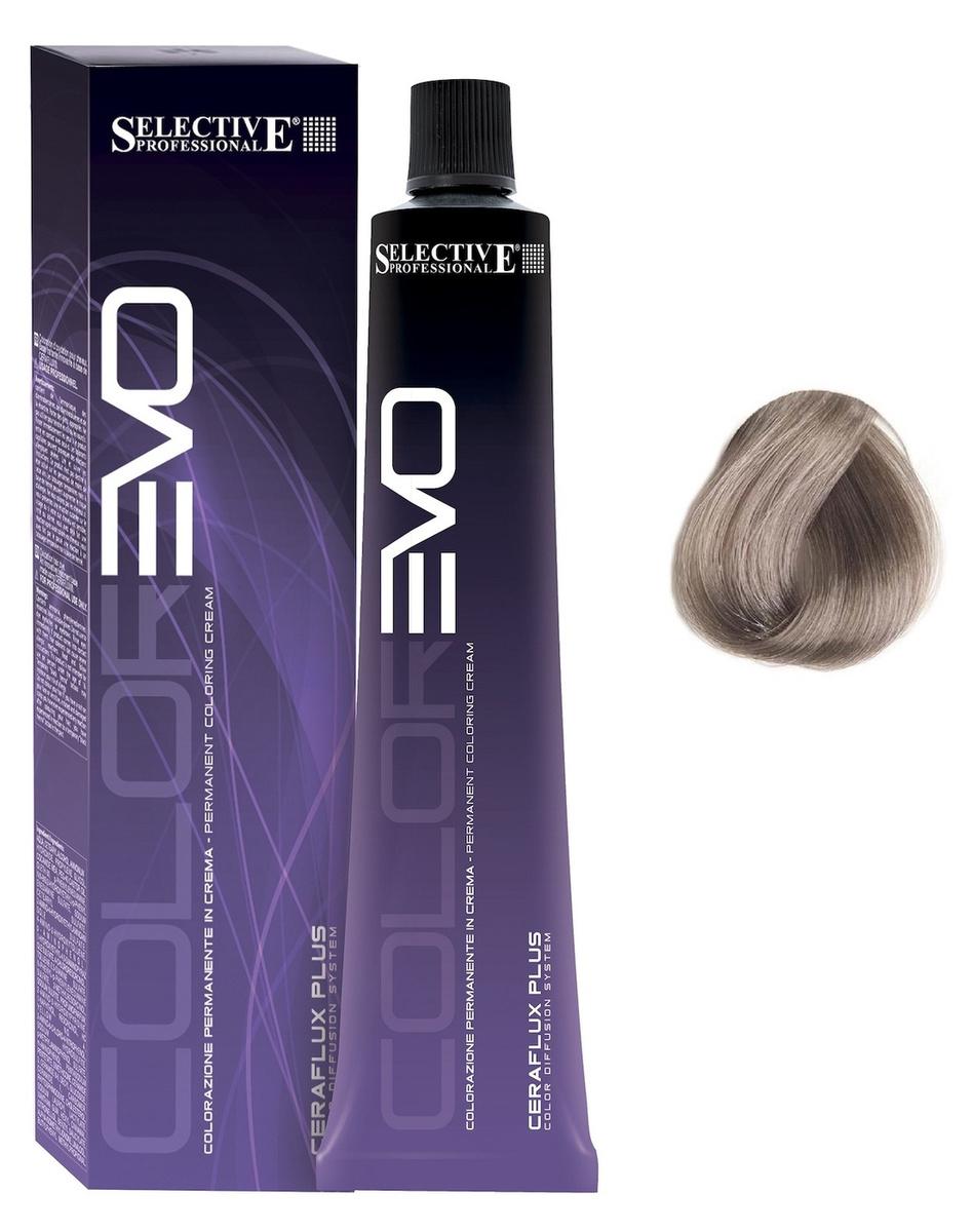 Selective Professional. Крем-краска для волос 9.11 очень светлый блондин пепельный интенсивный Permanent #1