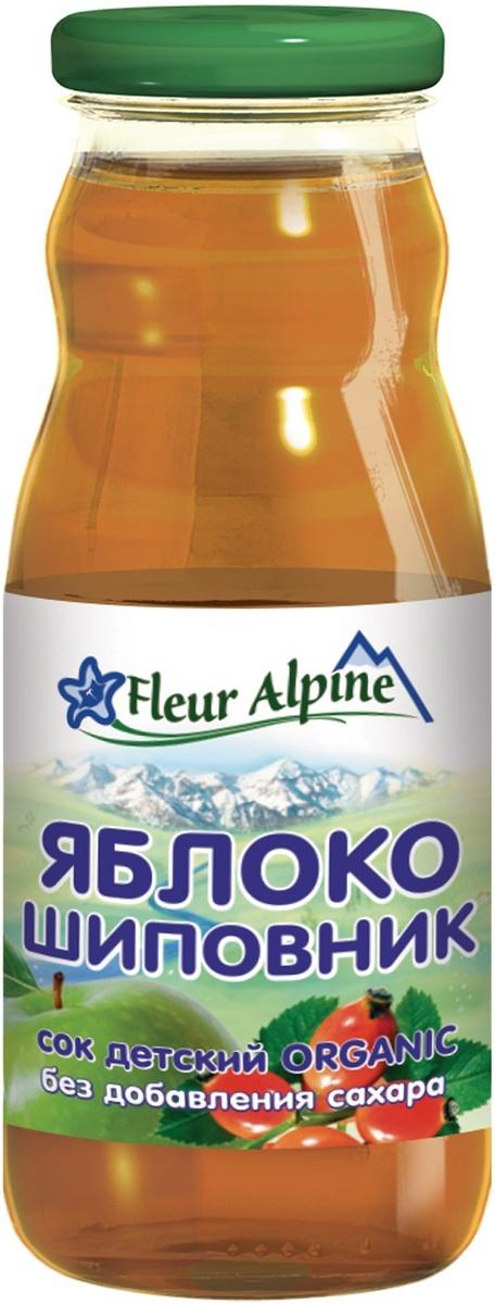 Сок детский Fleur Alpine Яблочно-шиповниковый, с 5 месяцев, 200 мл  #1