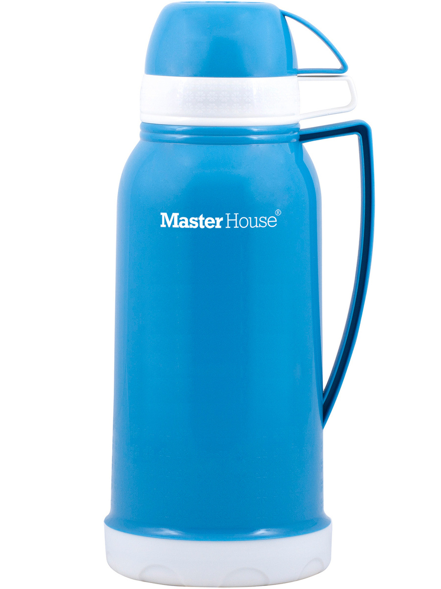 Термос Со стеклянной колбой, Крышка-чашка Master House, 1.65 л #1