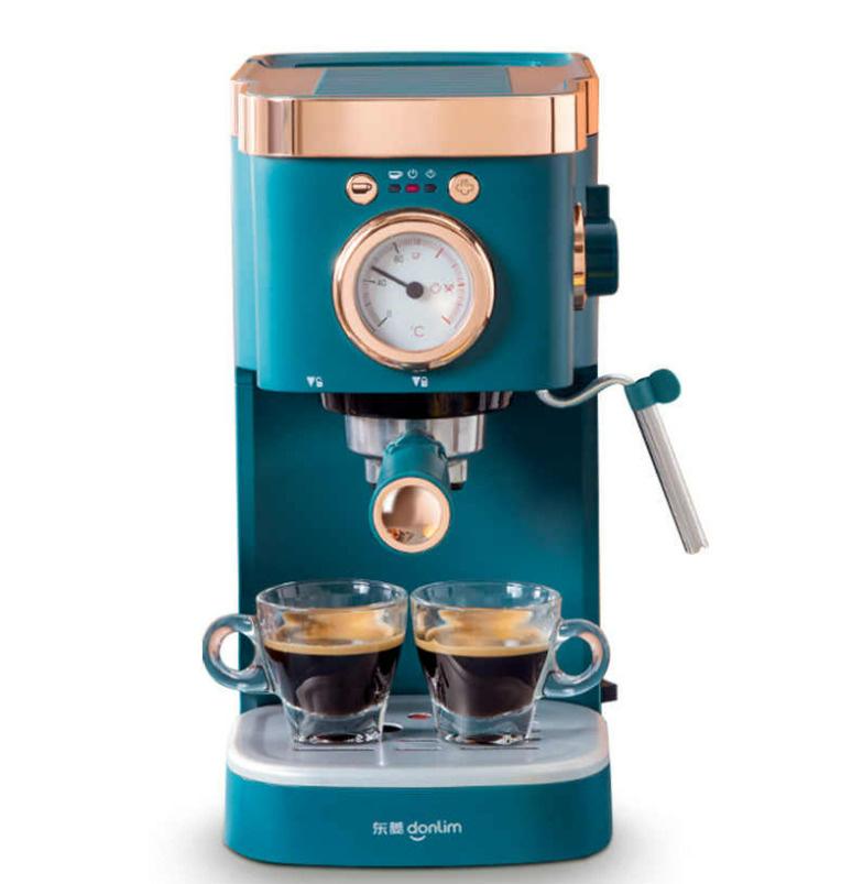 Автоматическая кофемашина Donlim DL-KF5400, лазурный #1