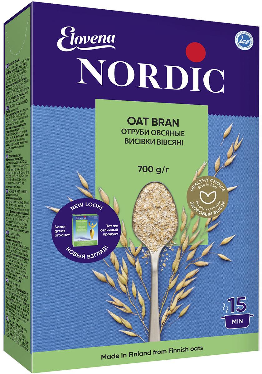 Nordic отруби овсяные, 700 г #1