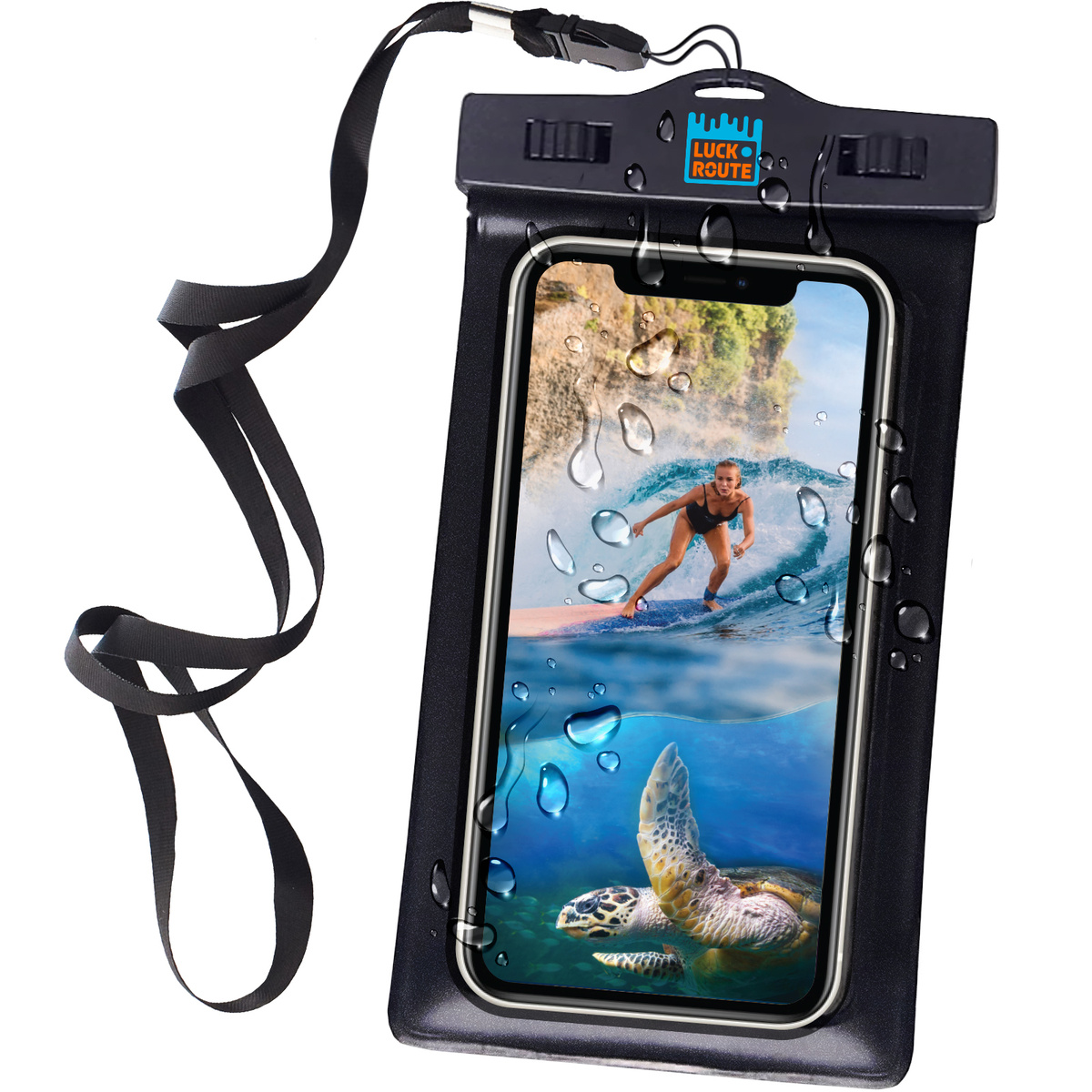 Водонепроницаемый чехол для телефона на шею Luckroute - Универсальный, Спортивный, Непромокаемый, Герметичный #1