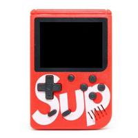 Портативная игровая приставка SUP GAMEBOX PLUS 400 в 1 (красный)